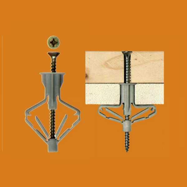 Balobau szárazépítészeti dűbel - 10 x 60 mm