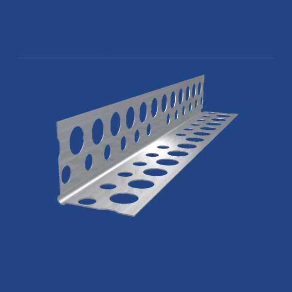 BaloBau EKO alumínium élvédő profil - 20 x 20 x 0,28 mm - 3 fm/db