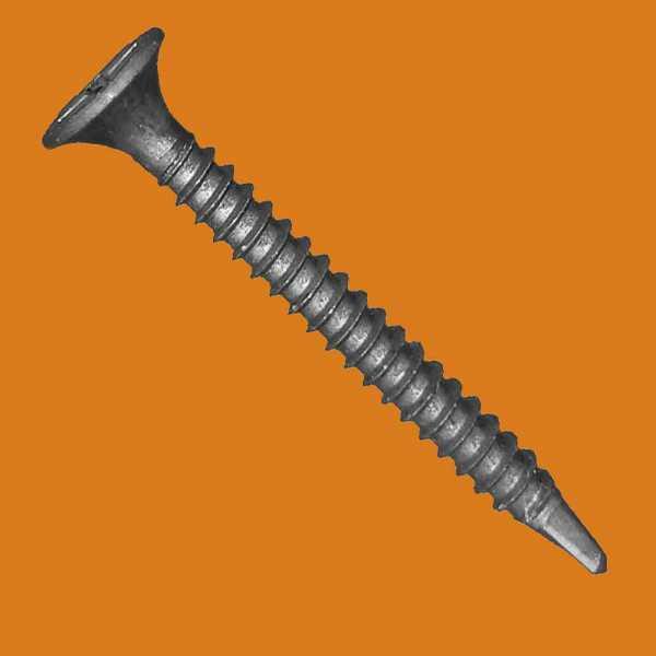 Balobau sűrűmenetes önmetsző gipszkarton csavar fémhez - 3,5 x 45 mm
