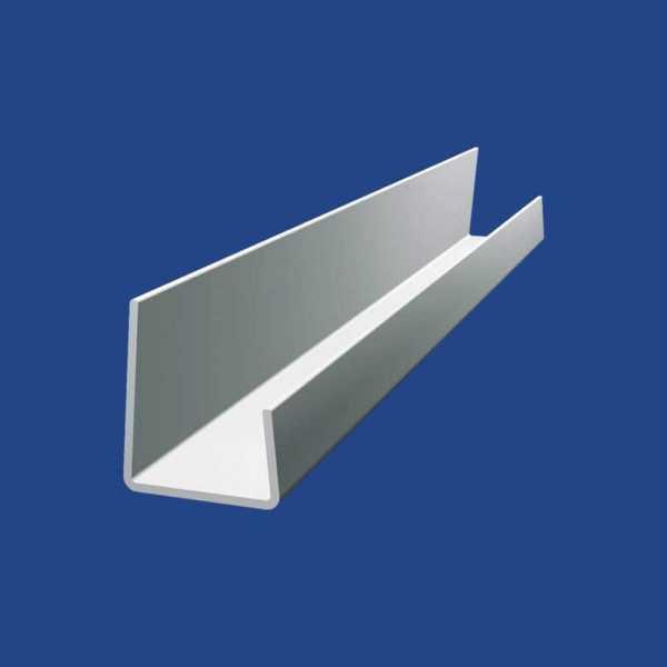 BaloBau J-PVC szegőprofil 15 mm gipszkartonhoz