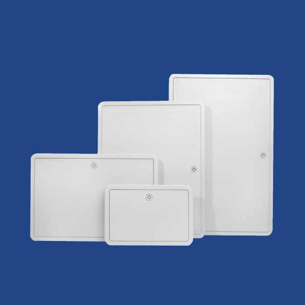 BaloBau műanyag szervizajtó - 15 x 20 cm - fehér